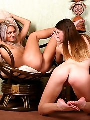 It Is High Time For Naughty Lesbians To Fondle Each Other During Wildest Fun On Camera.