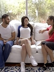 Cassidy Klein Visits Megan Sage And Damon Dice To Discuss The Details Of A School Dance, But Soon Th