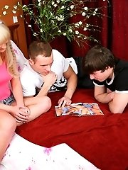 Angela Saw Many Porn And She Wanted To Try Threesome.