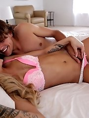 Cum Hungry Coed Jessa Rhodes Gives Her Man A Juicy Morning Blowjob And A Stiffie Ride In Her Creamy