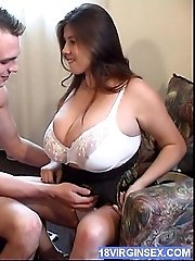 Busty Teen Gets Her Melons Fucked And Cum-smeared