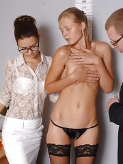 Female job candidate asked to strip to the lingerie