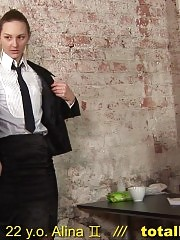 Undressing and doing a lot of dirty things at the interview