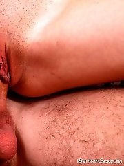 Nina Feels The Taste Of A Mans Tongue Inside Her Pussy For The First Time.