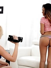 Saucy Latina Josie Jagger Shows Off Her Sensuality And Sexuality When She Is Interviewed By Kate Eng