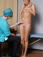 Doctor makes a cutie do some bad things