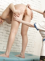 Wicked gynecologist punishes her disobedient patient