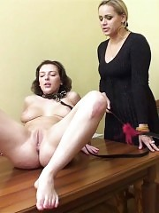 Crazy sports mistress trains a bound sexpot
