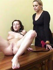 Crazy sports mistress trains a bound sexpot