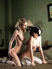 These Fine Lesbian Dolls Just Have A Deep Desire To Show Their Lust To Each Other As They Blow Some