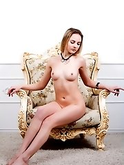 Her Heart Is Burning With Desire And She Uses Every Possible Measure To Show Off Her Teen Pussy At I
