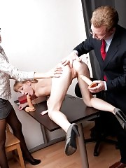 Three holes of a secretary tested at a toy interview