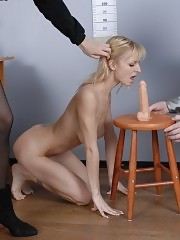 Incredibly toy-core nude job testing