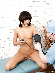 Brune dolly afraid of speculums and other tools