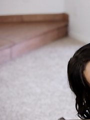 Raven Haired Hottie Brooklyn Daniels Uses Her Luscious Mouth And Soft Tongue To Give Her Lucky Man A