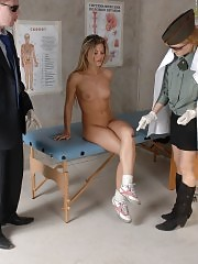 Outrageous medical tests carried out at a military exam