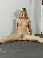 Special masturbation after a nude action lesson
