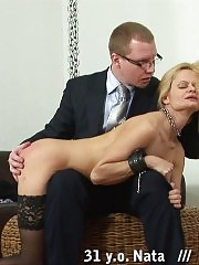 Slutty teacher getting a wrenching painful lesson