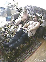 A fucking couple filmed by hidden camera