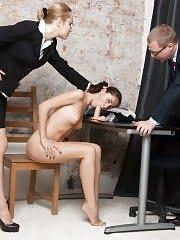 Undressed and DPed secretary still needs this job