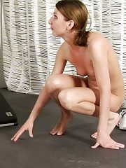Maledom at the gym for sports and masturbation