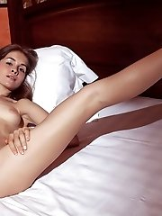 This Shapely Teen Beauty Knows How To Have A Ton Of Fun And Today She Goes All Out Spreading Those L