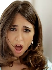 Melissa Moore Gets Out Of The Bath And Lures Riley Reid Into A Lusty Horny Threesome With Rileys Ste