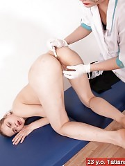 Confused patient involved in gyno lesbian sex