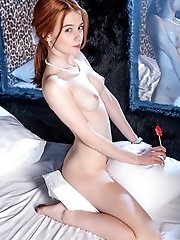 She Has That Pink Teen Pussy Ready For Some Steaming Hot Fun And She Just Loves To Show Her Perfectl