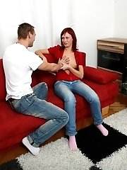 This Gorgeous Redhead Is Finally Going To Let Her Man Fuck Her