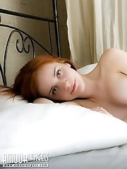 Super Fine Rounded Firm Breasts Of This Seductive Girlfriend May Trigger Explosion Of Passion. Give
